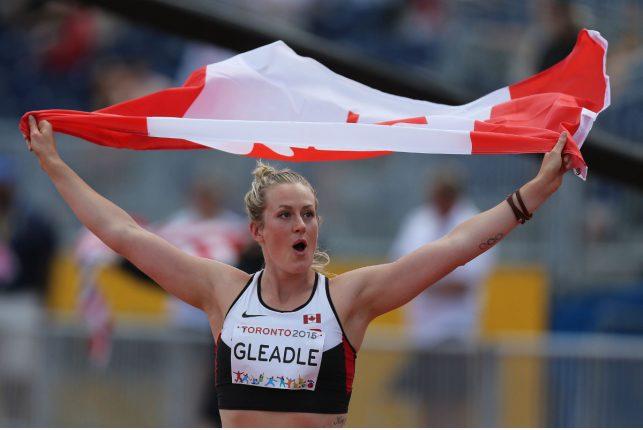 Liz Gleadle Wins Gold